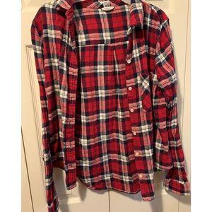 (Forever 21) plaid shirt